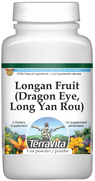 Longan Fruit (Dragon Eye, Long Yan Rou) Powder