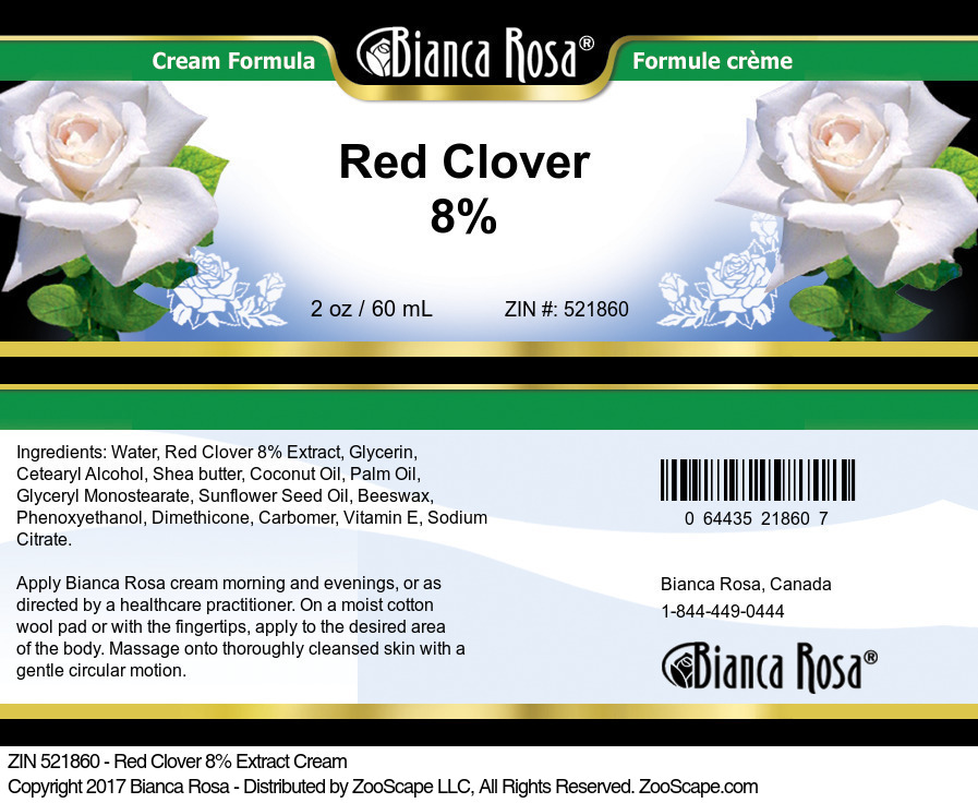Red Clover 8% Cream