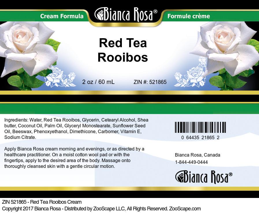 Red Tea Rooibos Cream
