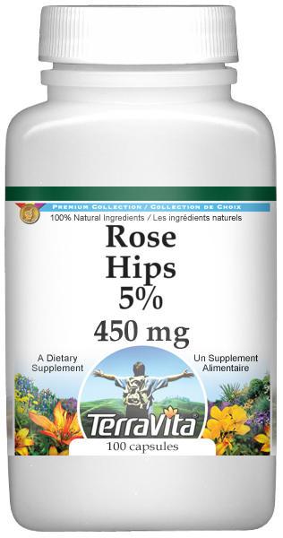 Rose Hips 5% - 450 mg