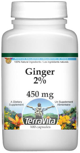 Ginger 2% - 450 mg