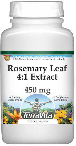 Rosemary Leaf 4:1 Extract - 450 mg