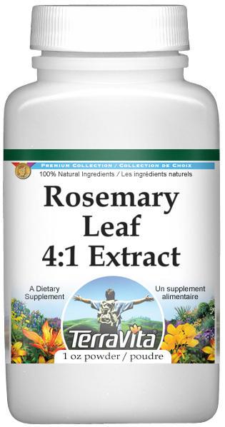 Rosemary Leaf 4:1 Extract Powder