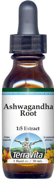 Ashwagandha Root Glycerite Liquid Extract (1:5)