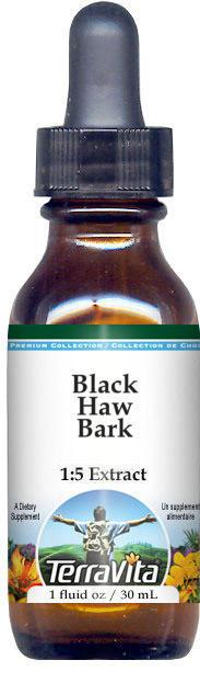 Black Haw Bark Glycerite Liquid Extract (1:5) - No Flavor