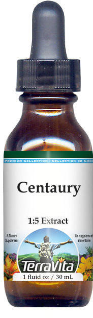 Centaury Glycerite Liquid Extract (1:5) - No Flavor