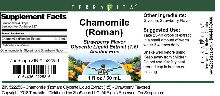 Chamomile <BR>(Roman)