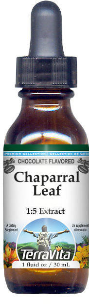 Chaparral Leaf Glycerite Liquid Extract (1:5) - Chocolate Flavored