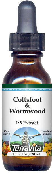 Coltsfoot & Wormwood Glycerite Liquid Extract (1:5)
