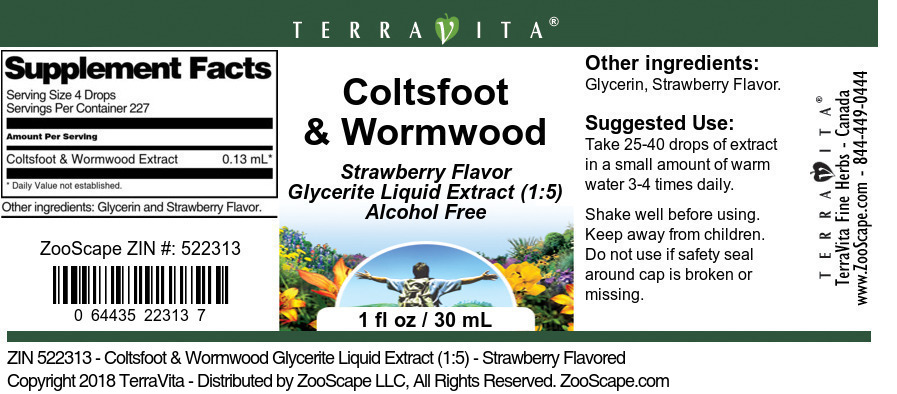 Coltsfoot and Wormwood