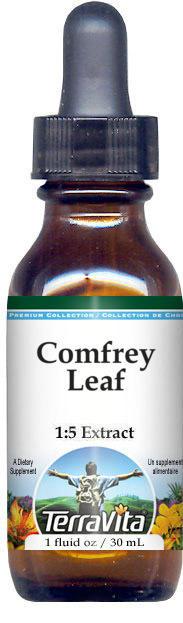 Comfrey Leaf Glycerite Liquid Extract (1:5)