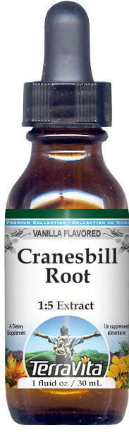 Cranesbill Root Glycerite Liquid Extract (1:5)