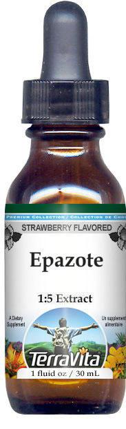 Epazote Glycerite Liquid Extract (1:5) - Strawberry Flavored