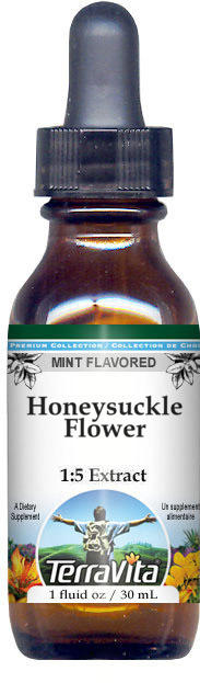 Honeysuckle Flower Glycerite Liquid Extract (1:5)