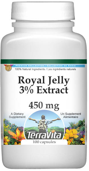 Royal Jelly 3% Extract - 450 mg