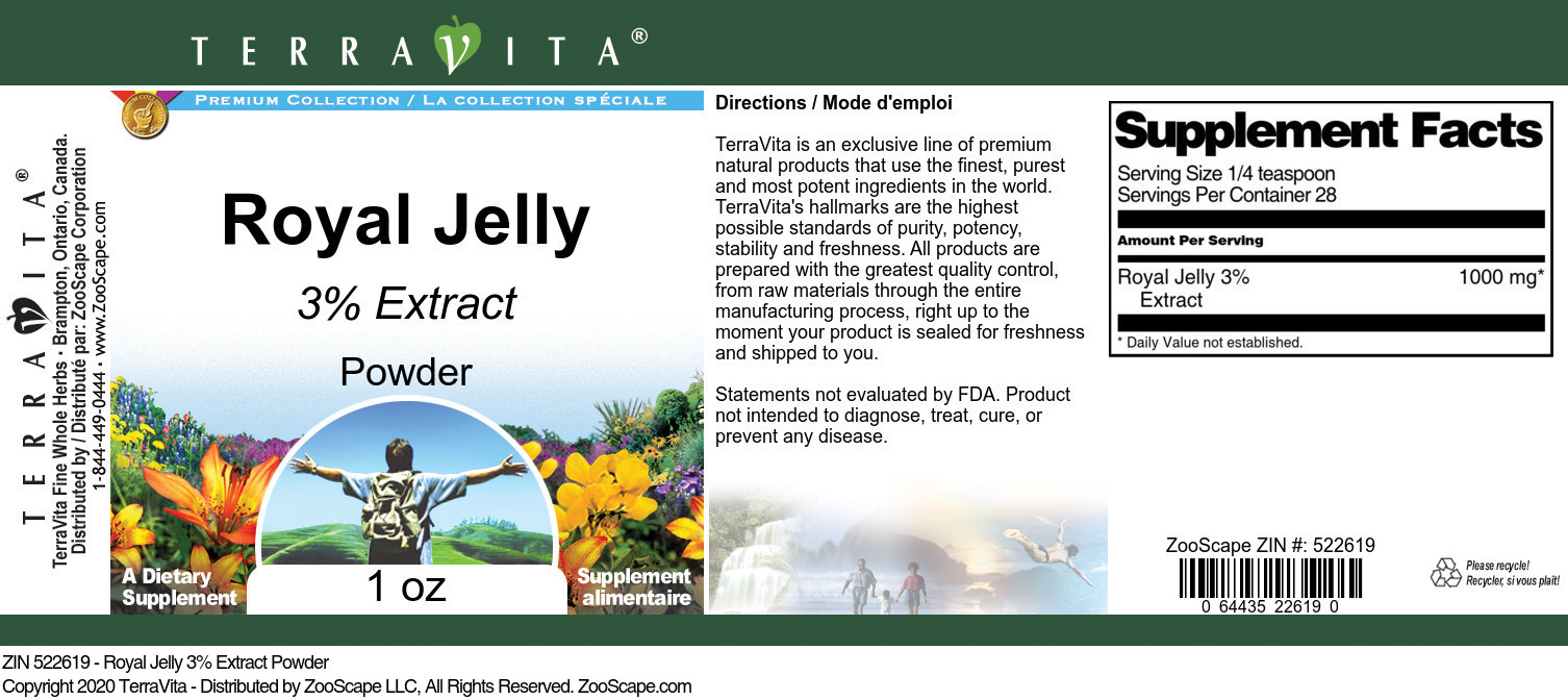 Royal Jelly 3% Extract