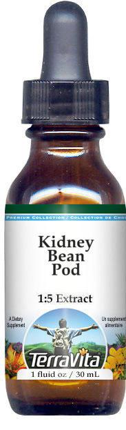 Kidney Bean Pod Glycerite Liquid Extract (1:5)