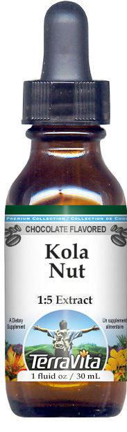 Kola Nut Glycerite Liquid Extract (1:5) - Chocolate Flavored