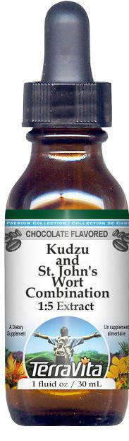 Kudzu and St. John's Wort Combination Glycerite Liquid Extract (1:5)
