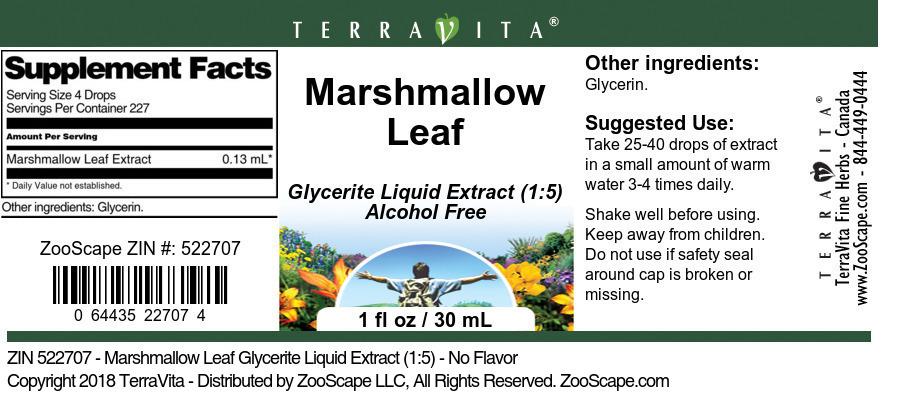 Marshmallow Leaf