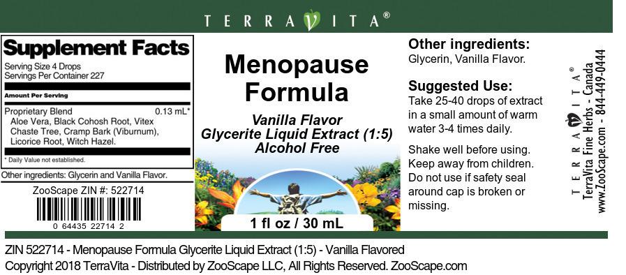 Menopause Formula