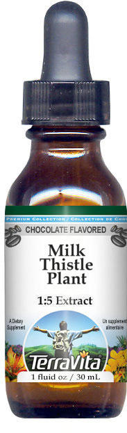 Milk Thistle Plant Glycerite Liquid Extract (1:5)