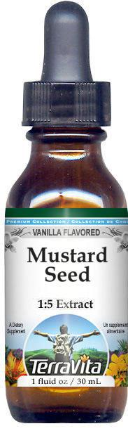 Mustard Seed Glycerite Liquid Extract (1:5)