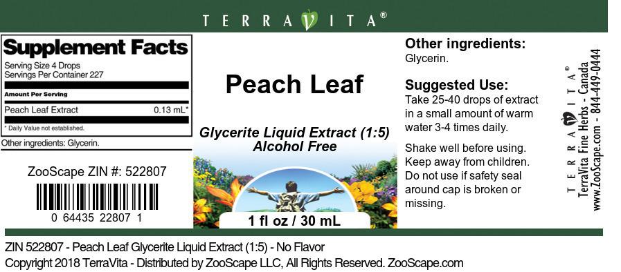 Peach Leaf