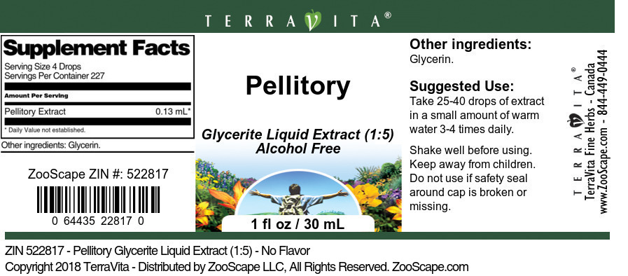 Pellitory