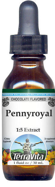 Pennyroyal Glycerite Liquid Extract (1:5) - Chocolate Flavored