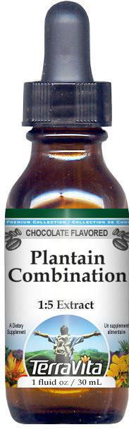 Plantain Combination Glycerite Liquid Extract (1:5)