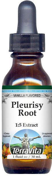 Pleurisy Root Glycerite Liquid Extract (1:5) - Vanilla Flavored