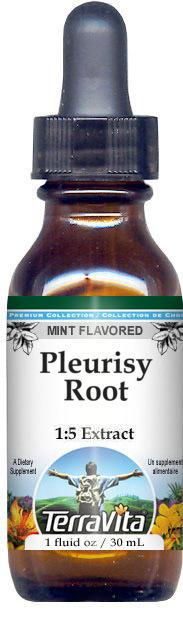 Pleurisy Root Glycerite Liquid Extract (1:5) - Mint Flavored