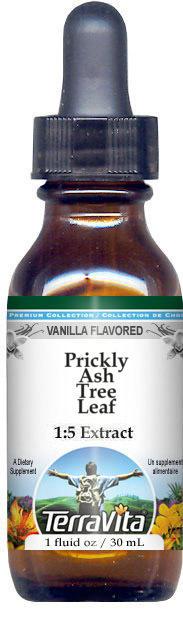 Prickly Ash Tree Leaf Glycerite Liquid Extract (1:5)