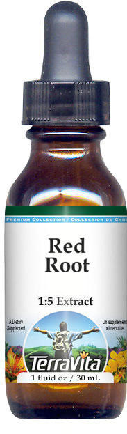 Red Root Glycerite Liquid Extract (1:5)