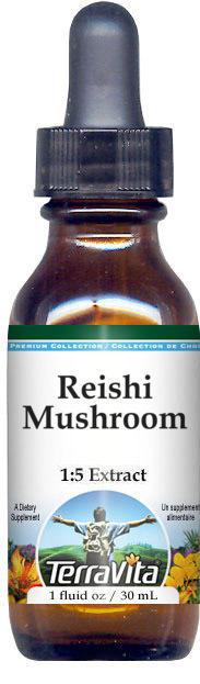 Reishi Mushroom Glycerite Liquid Extract (1:5) - No Flavor