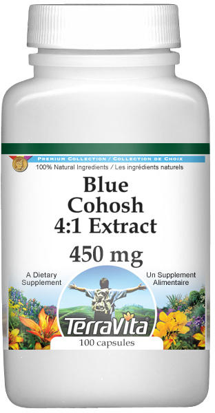 Blue Cohosh 4:1 Extract - 450 mg