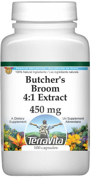 Butcher's Broom 4:1 Extract - 450 mg