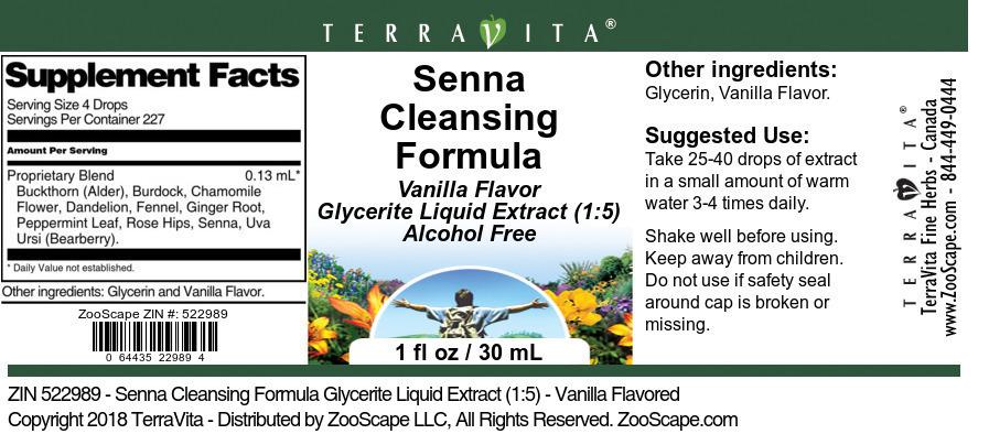 Senna Cleansing Formula