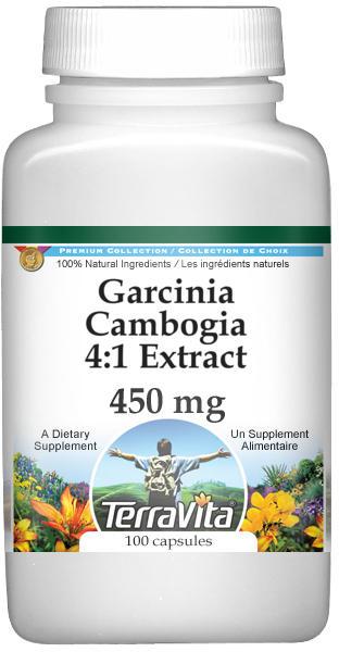 Garcinia Cambogia 4:1 Extract - 450 mg