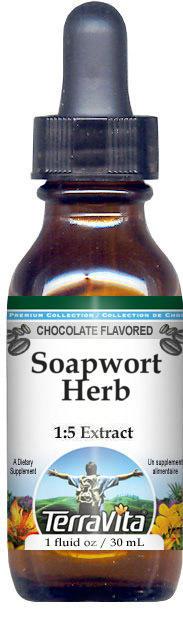 Soapwort Herb Glycerite Liquid Extract (1:5)