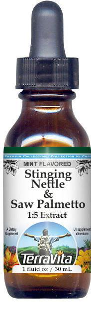 Stinging Nettle & Saw Palmetto Glycerite Liquid Extract (1:5)