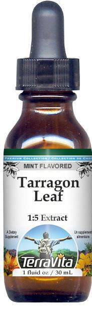 Tarragon Leaf Glycerite Liquid Extract (1:5) - Mint Flavored