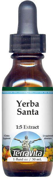 Yerba Santa Glycerite Liquid Extract (1:5)