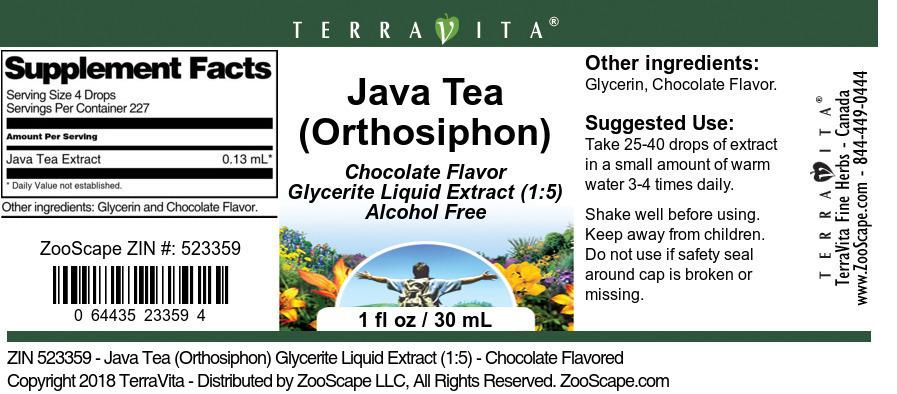 Java <BR>(Orthosiphon)