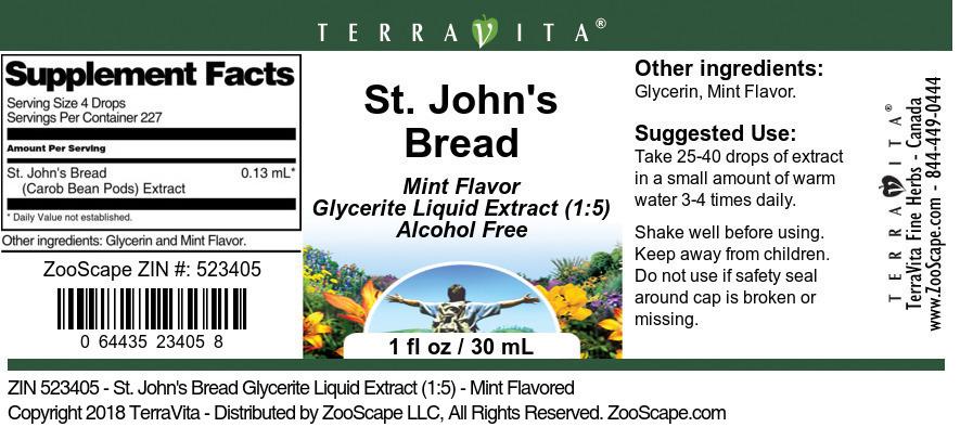 St. John's Bread