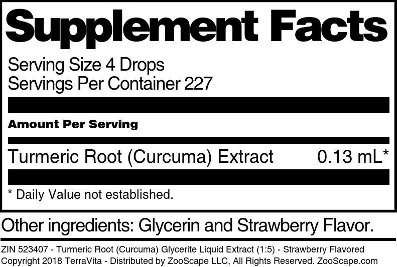 Turmeric Root <BR>(Curcuma)