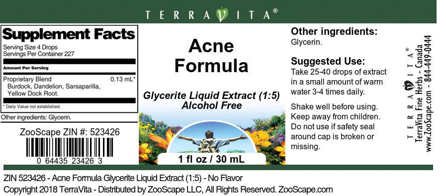 Acne Formula