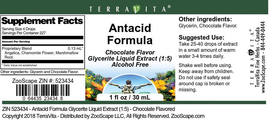 Antacid Formula Glycerite Liquid Extract (1:5)