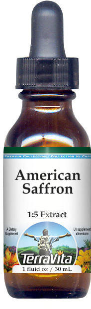 American Saffron Glycerite Liquid Extract (1:5)